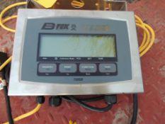 B-TEK Platform Scale, Model BT-FC-4848-5-4SQ, w/ T103SB Digital Readout, 5000 Lb. Max Cap.,