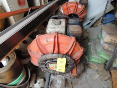 LOT: (2) Little Wonder Optimax Blowers, (NOT RUNNING - PARTS MISSING), LOCATION: 2435 S. 6th Ave.,