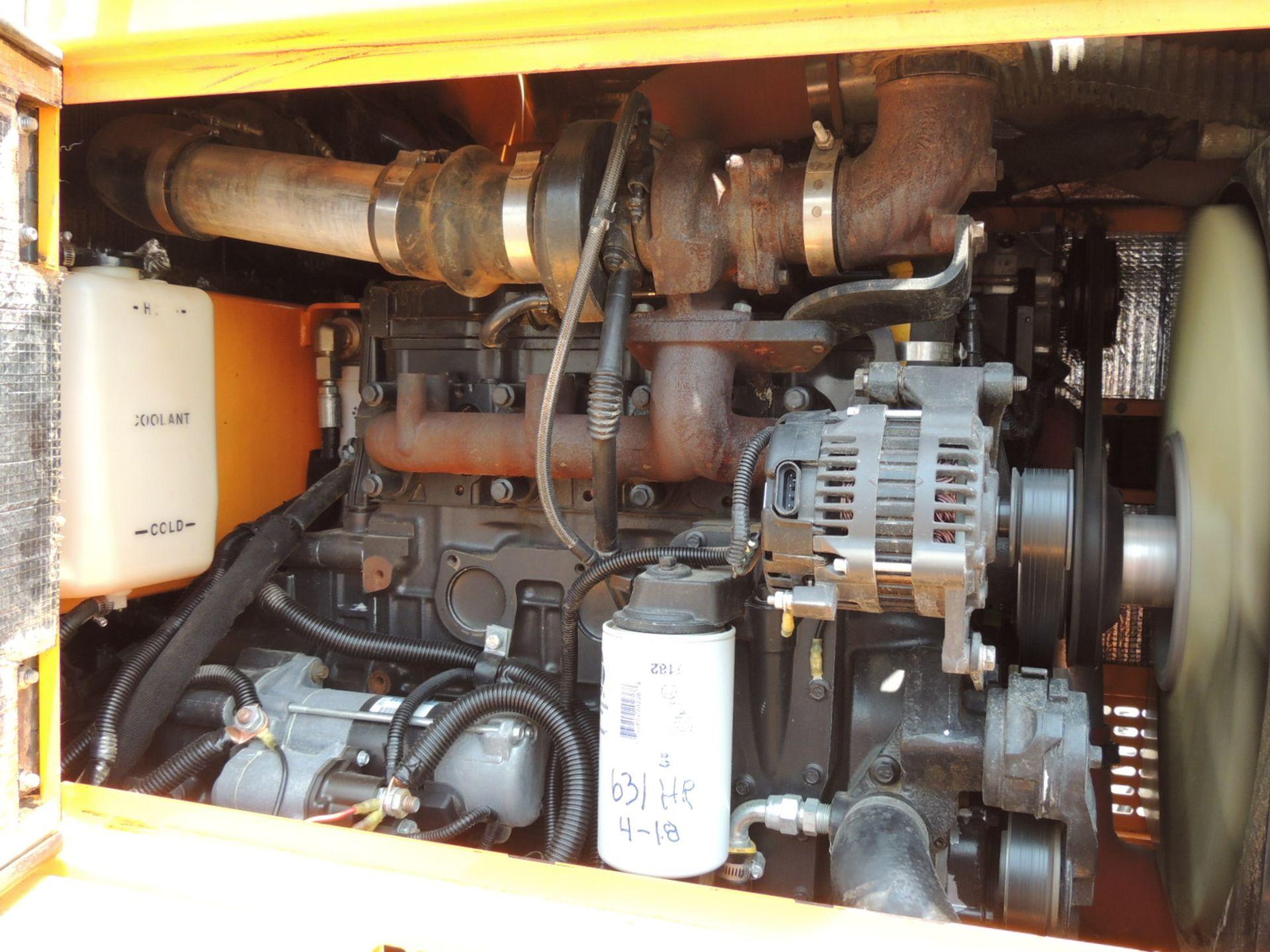 2015 Leeboy 685C Motor Grader, S/N 11909, Rear Ripper w/9-Shank Bar, Includes (5) Shanks, Front - Image 7 of 11