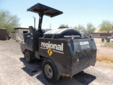 1998 Bomag BW 11 RH Rubber Tier Roller, S/N A22C15600V, Cummins 3.9 Ltr., Tested with battery and