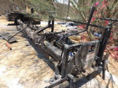 2010 Raynor Equipment Systems, Model MSB 814, S/N 030094, Adjustable Width Screed, (Parts