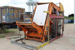 FKI Logistex Custom Pallet Stacking Line, (Located at 900 Oak Street, Dekalb, IL 60115)