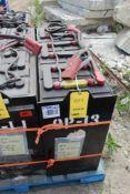Deka Industrial Forklift Battery Type 12-D125-15, (600 N. Broadway Street, Aurora, IL 60505)
