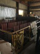 Vertical Metal Plate Racking System, (Located at 900 Oak Street, Dekalb, IL 60115)