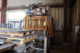 Hydraulic Trim Press, 43 in. x 29 in. Table.(Located at 900 Oak Street, Dekalb, IL 60115)