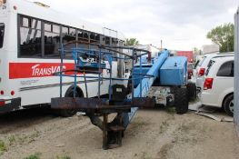 Mark Industries LP/Gas Self Propelled Boom Lift Model 42C 4X4, 800 lbs. Working Capacity, 3' X 6'