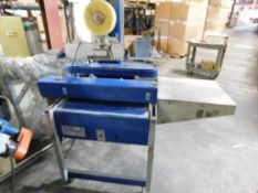 Durable Packaging Corporation Carton Sealer Model RM-32A, S/N 092287, 22 in. x 22 in. Max. Carton