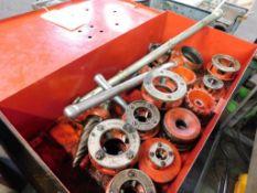 LOT: Ridgid Manual Threading Kit with Cutter, Reamer & Dies (LOCATION: 520 DRESDEN ST., KALKASKA, MI