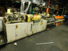 LOT: Shuster Wire Straightening/Cut-off Machine Model 3AV, S/N 12354, 1/2 in. Max. Dia., 14 ft. Max.