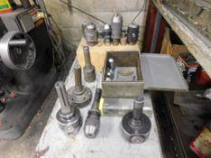 LOT: R8 Boring Heads & Assorted Tooling (LOCATION: 520 DRESDEN ST., KALKASKA, MI 49646)