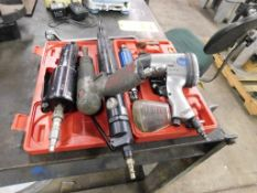 LOT: Pneumatic Tools including 1/2 in. Impact Wrench, Die Grinder, Scaler, Chisel & Shear (LOCATION: