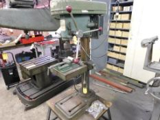 Jet 13 in. Single-Spindle Bench Top Drill Press Model 13R, S/N 60166, 500 to 2600 RPM, 9 in. x 9-1/2