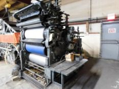 R. Hoe Company 2-Color Offset Printing Press, S/N 6770, 25 in. x 36 in. Max. Size, Magazine Loaded