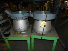 LOT: (2) VFC Vibratory Parts Feeders Model 25 (LOCATION: 520 DRESDEN ST., KALKASKA, MI 49646)