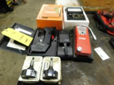 LOT: Multimeter, Gas Detector, (2) Tachometers, Thermometer, Tic Tracer (LOCATION: 520 DRESDEN