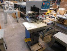 Easy Print Pad Printer Model 54-S, C-Frame, S/N YZ4498, 11 in. x 20 in. Table, 5 in. x 20 in. 4-