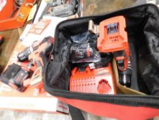 LOT: (2) Milwaukee M18 Cordless Drills with Batteries & Charger (LOCATION: 520 DRESDEN ST.,