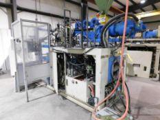 LOT: Line #4 - Automa Single-Station Shuttle Continuous Extrusion 3L Blow Molding Machine Model