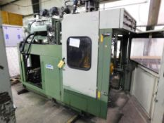 LOT: Line #2- Automa Single-Station Shuttle Continuous Extrusion 3L Blow Molding Machine Model Speed