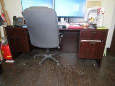 4-Drawer Office Desk & Chair
