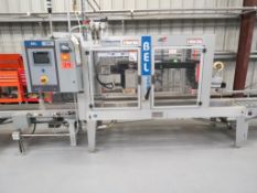 WEXXAR BELL-290T Fully Automatic Top Case Sealer , SN:5729, S) Part of Complete Packaging Line