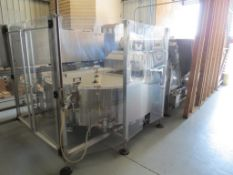 New England Machinery Bottle Hopper H-E-100, SN:2-8751, A) Part of Complete Packaging Line