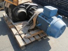MXD Process Inc. 50HP Top Entry Flange Mount Mixer, SN: 85-D-31590
