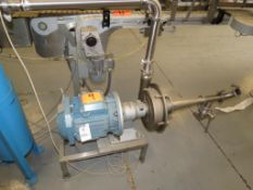 Fristam Tote Pump ,SN;45870031, D) Part of Complete Packaging Line