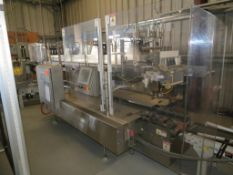 Hamrick Case Packer & Control System, SN: 19-1969, Q) Part of Complete Packaging Line