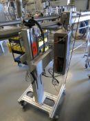 Squid INK Laser Sensor 9010 Batch Number Printer, SN: X172796X25F136-0812N, N) Part of Complete