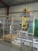 Fanuc M-410iC Robotic Multi Configuration Case Palletizing Robot , SN:E18930875 with South Coast