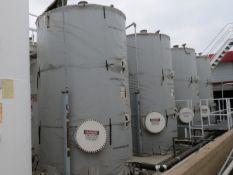 LOT: (4) Powerblanket Tank Heating Blankets for Bulk Oil Tanks, - Hi Temp, Custom / Grey, 96 in. D x