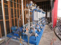 Emerson In line Blending Skid #3.0 KMS-6, SN: 3913117-01(SEE REMOVAL REQUIREMENTS IN DESCRIPTION)