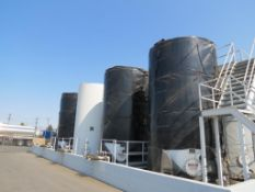 LOT: (8)Tiger Tanks Carbon Steel Storage Tanks 12,000 Max Gallons