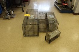 LOT: (6) Assorted Animal Traps