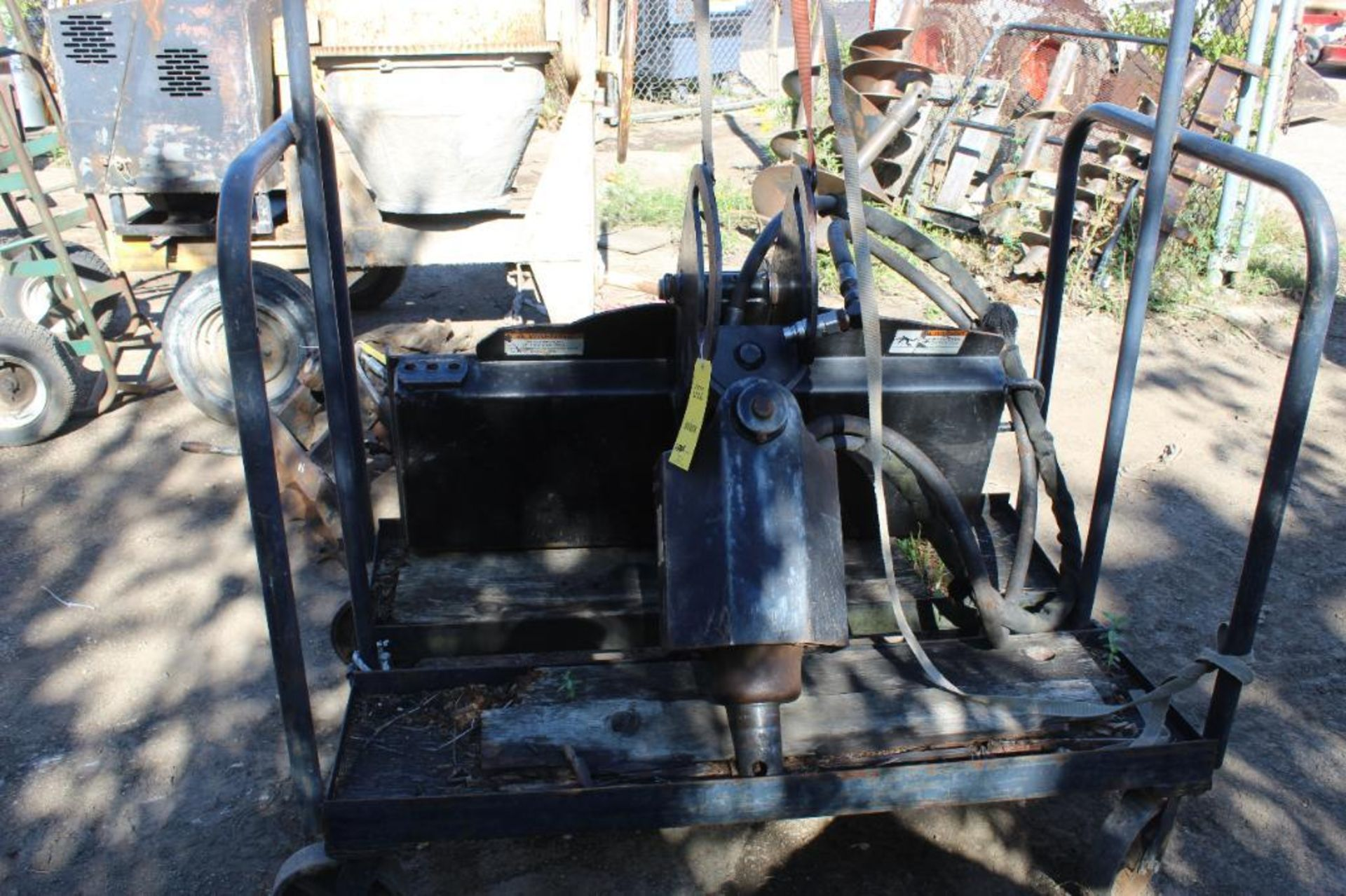 Skid Steer 15 Auger Attachment, S/N 187402542