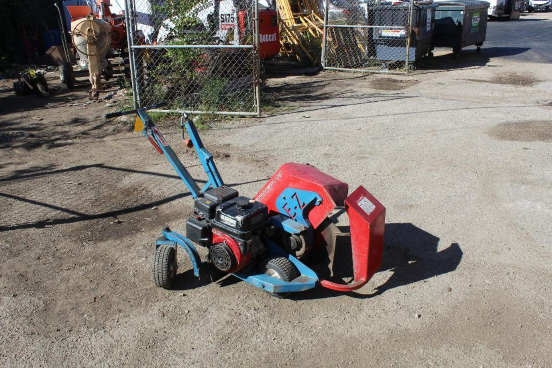 E-Z Trench EZ8000 Mini Trench with Bed Cutting Attachment, S/N 200383