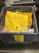 LOT: Assorted Rain Suits, Safety Harness