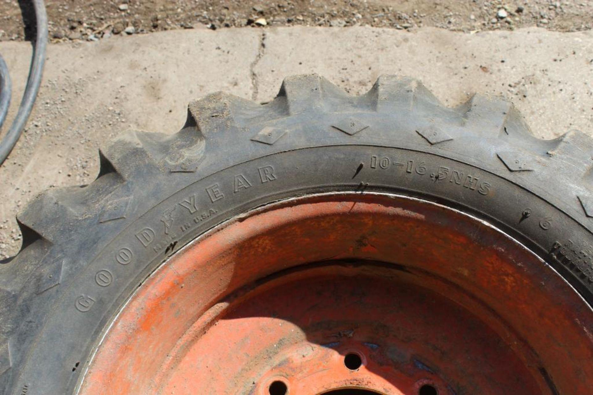 Good Year Skid Steer Tire 10-16.5 NHS - Image 2 of 2