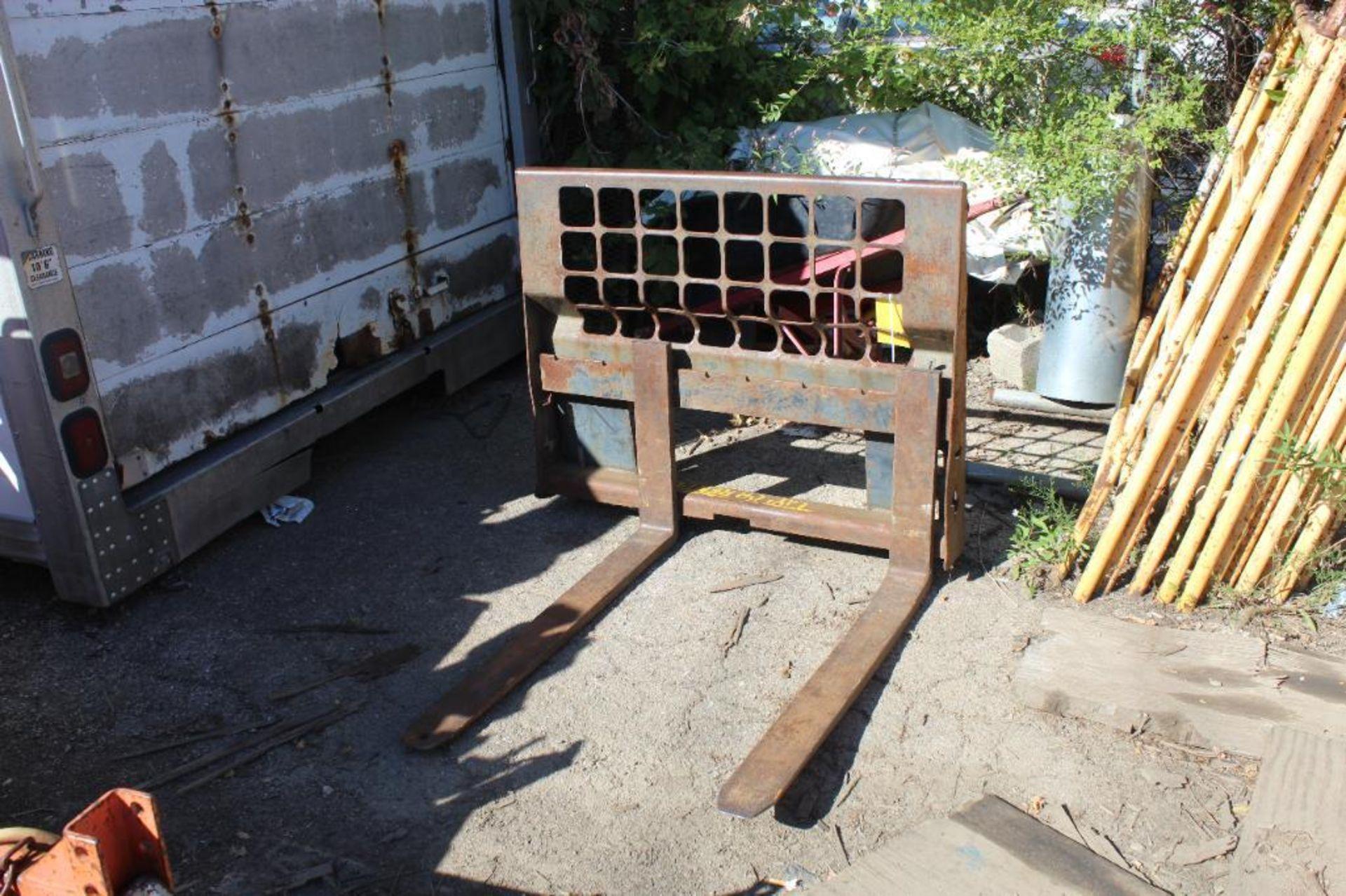 Skid Steer Forklift Attachment