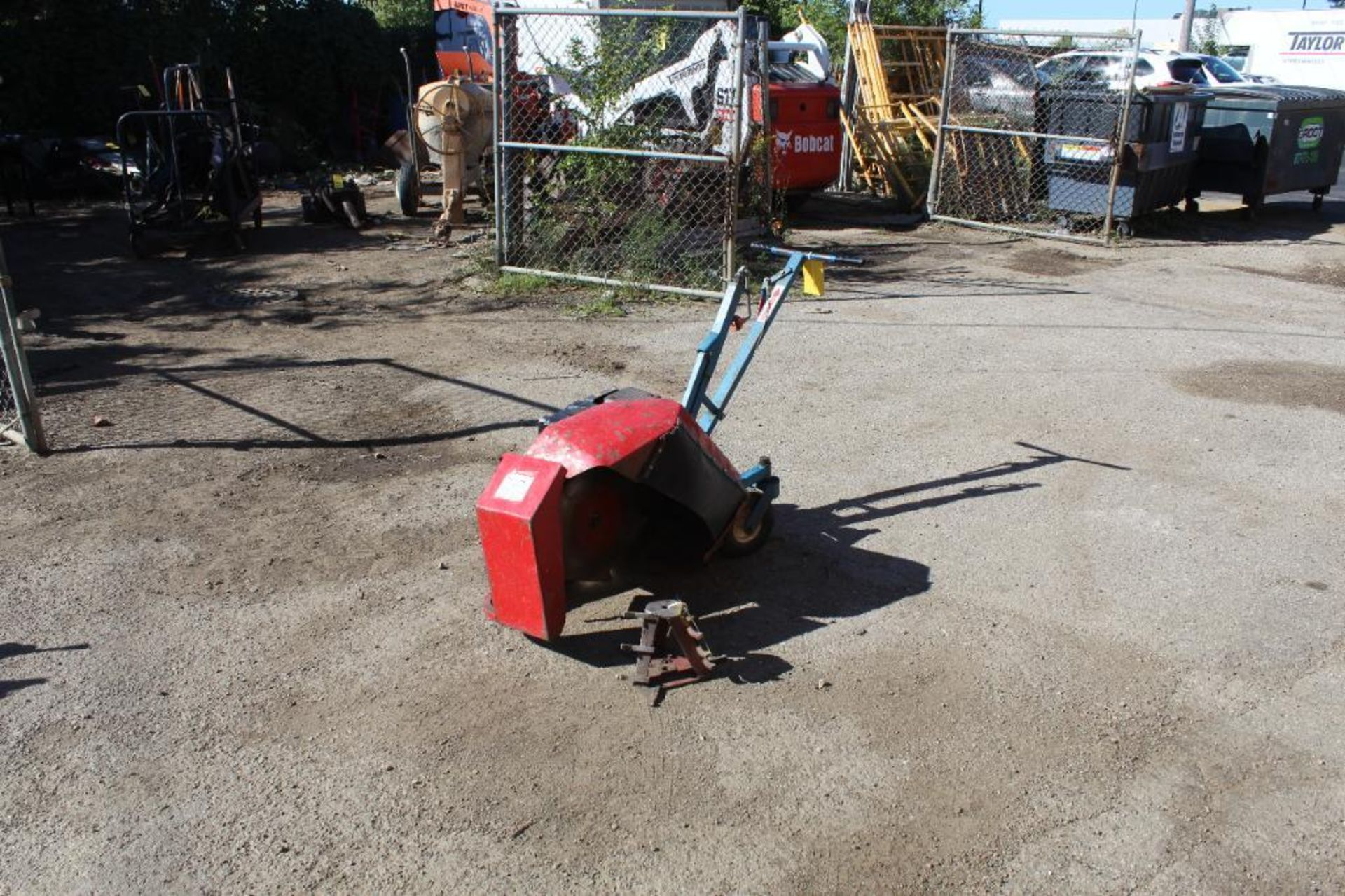 E-Z Trench EZ8000 Mini Trench with Bed Cutting Attachment, S/N 200383 - Image 2 of 4