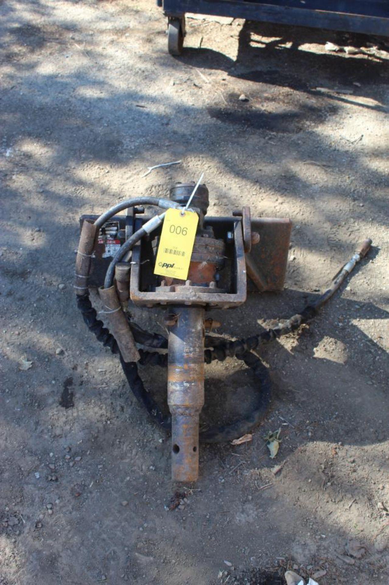 Mini Skid Steer Auger Attachment Model SK5PAL