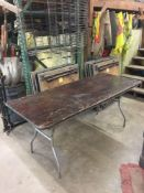 LOT: (12) 6 ft. x 30 in. Tables
