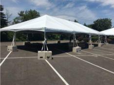 2018 Aztec 30 ft. x 60 ft. Jumbotrac Lite Frame Tent, 15 ft. Sections, Keder Style