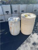 LOT: Water Barrel Tent Weights