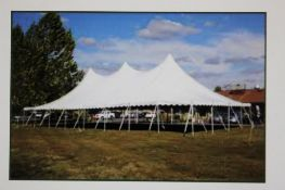 2018 Aztec 40 ft. x 80 ft. Pole Tent, 20 ft. Sections, Compatible with Ancor Century Tent