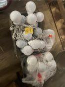 LOT: Tent Globe Lights