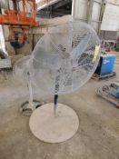 Dayton Pedestal Shop Fan