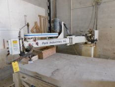 Park Industries Router Model Wizard, 48 in. x 96 in. Stone Top Work Table