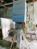 Sawing Systems Stone Saw Model 541B, S/N 021565